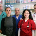 צוות המרכז הרפואי לחיות